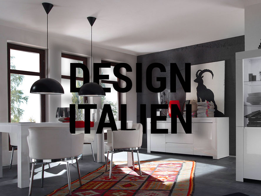 Design italien meubles laqu s mooviin for Meuble salon sejour design