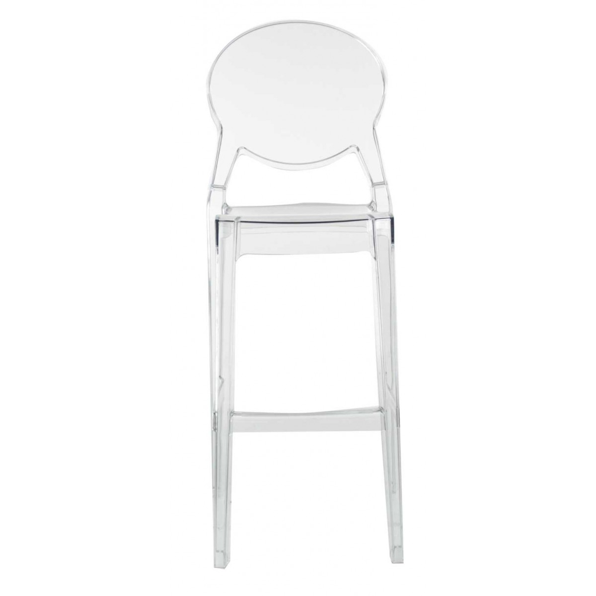 Tabouret transparent - Tabourets de bar transparents ...