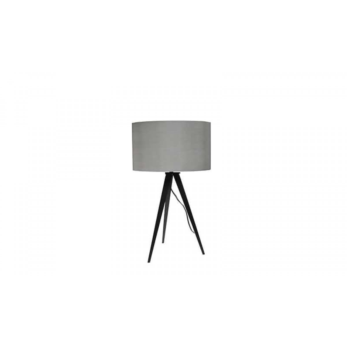 lampe de table tripod style scandinave bicolore gris noir mooviin. Black Bedroom Furniture Sets. Home Design Ideas