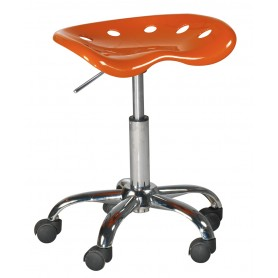 Tabouret de bureau Paris Orange