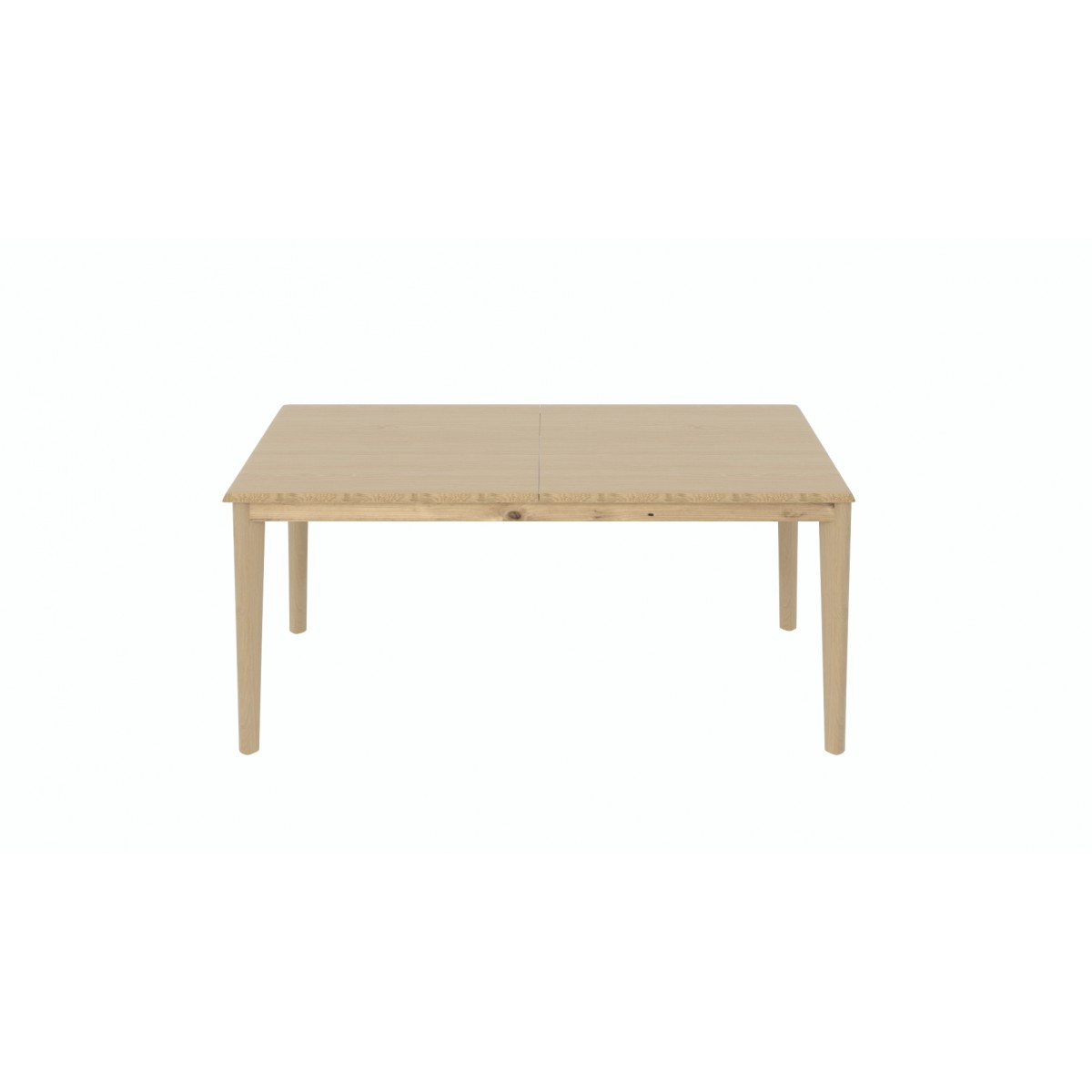Table rectangulaire style vintage 180 cm avec allonge 80 cm plaqu ch ne kolsen zago store - Table rectangulaire avec allonge ...
