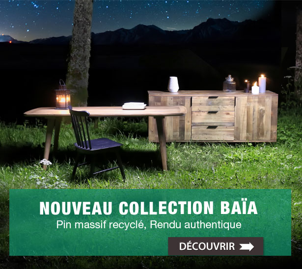 Nouvelle collection Baïa