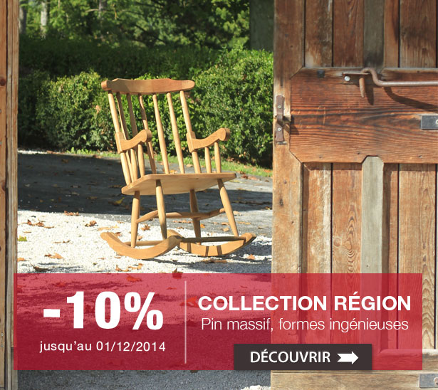 Collection Région à -10%